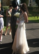Imtaz wedding dress - Ciara and James